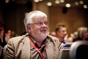 LO-kongressen 2013 - APFs delegat Tore Sjølie. (Foto: Sissel M. Rasmussen)